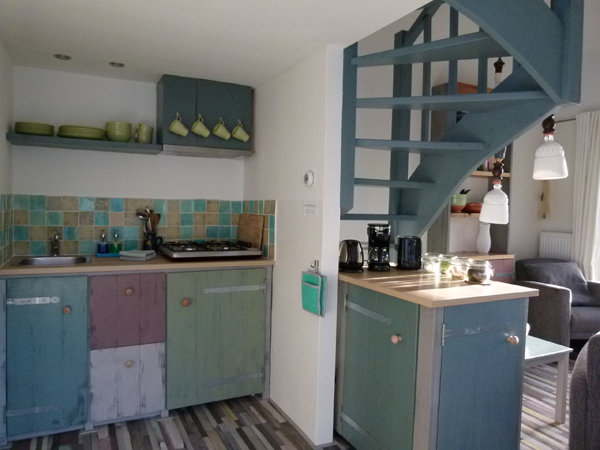 Te huur vakantiewoning ouddorp - Keuken voor klein gebied ...